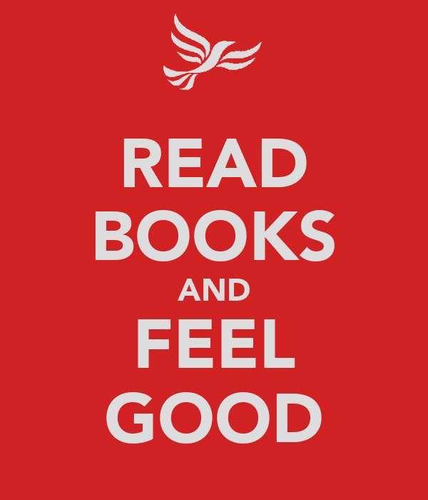 READ BOOKS AND FEEL GOOD