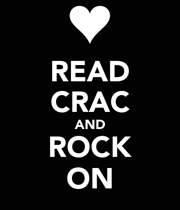 READ CRAC AND ROCK ON