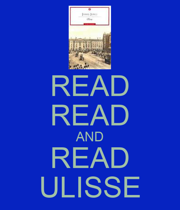READ READ AND READ ULISSE