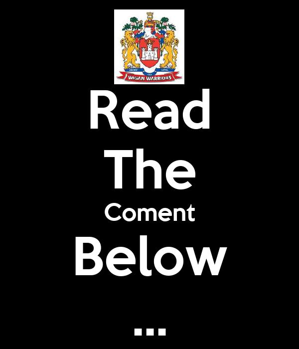 Read The Coment Below ...