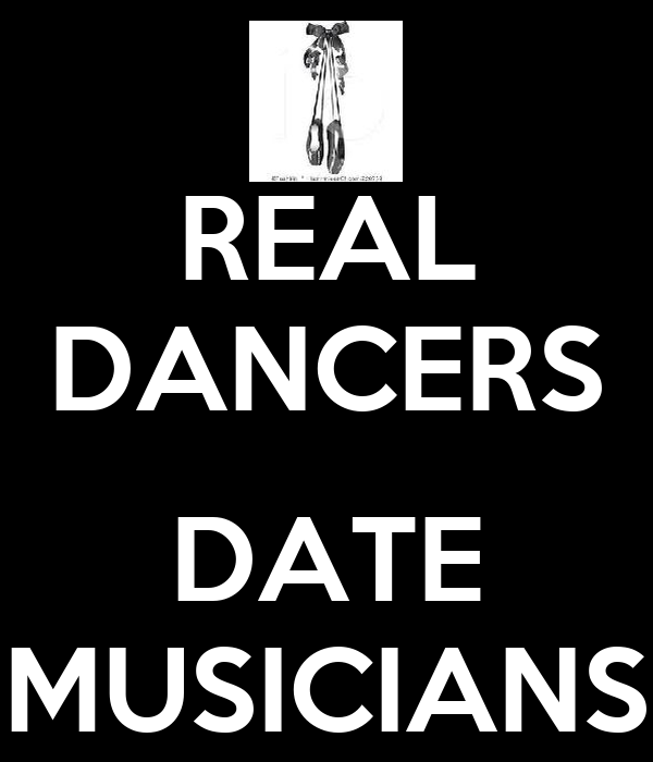 REAL DANCERS  DATE MUSICIANS