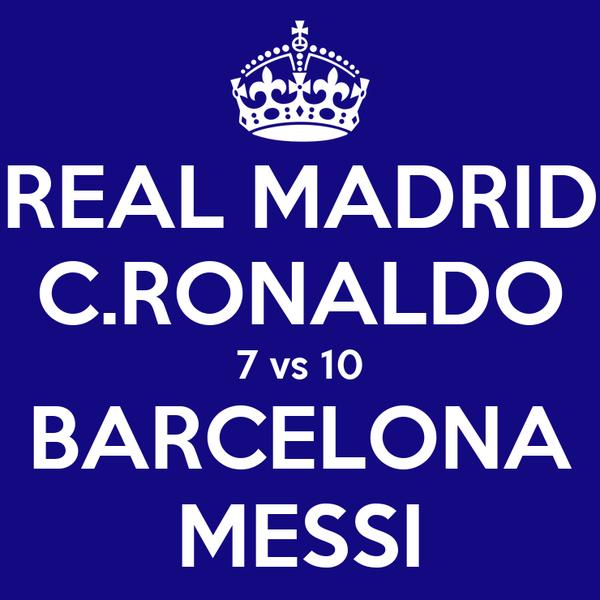 Download Video Barcelona Vs Girona 6 1: REAL MADRID C.RONALDO 7 Vs 10 BARCELONA MESSI Poster