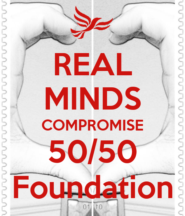 REAL MINDS COMPROMISE 50/50 Foundation