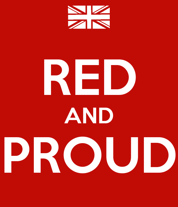 RED AND PROUD
