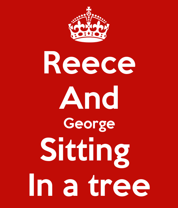 Reece And George Sitting  In a tree