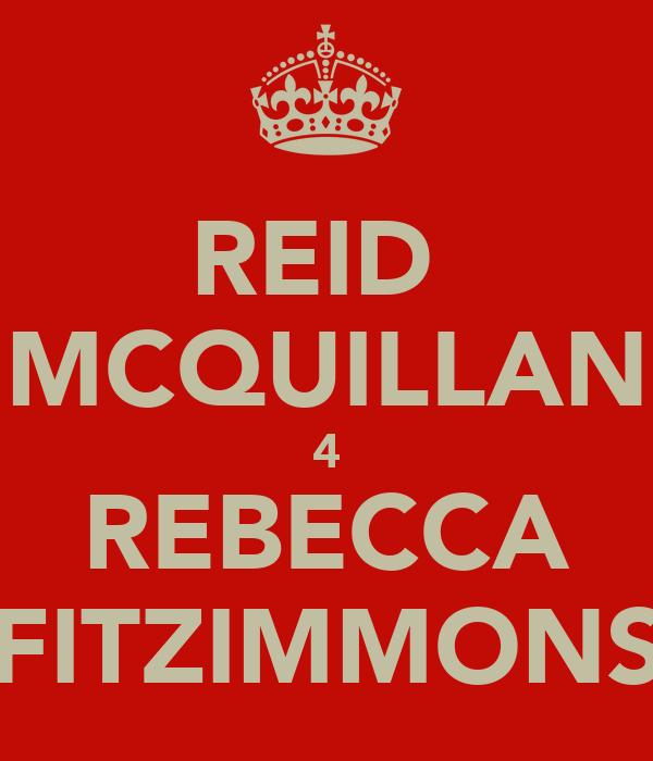 REID  MCQUILLAN 4 REBECCA FITZIMMONS