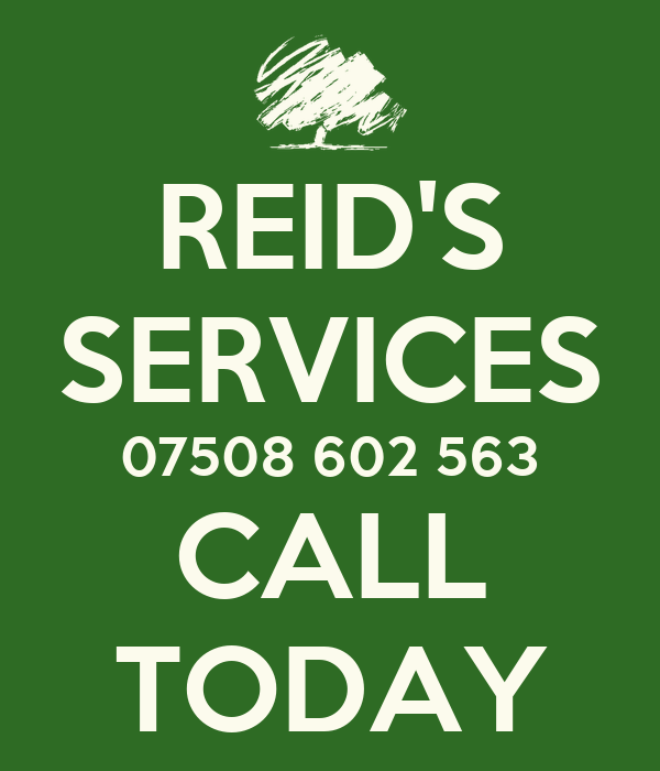 REID'S SERVICES 07508 602 563 CALL TODAY