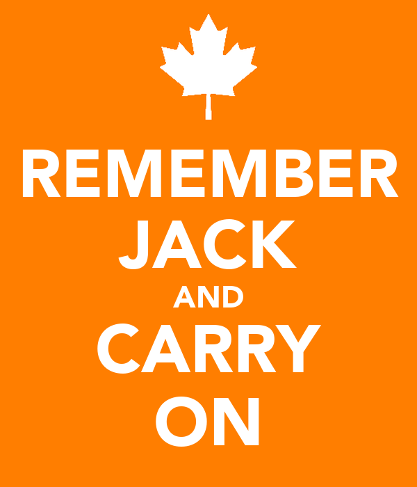 REMEMBER JACK AND CARRY ON