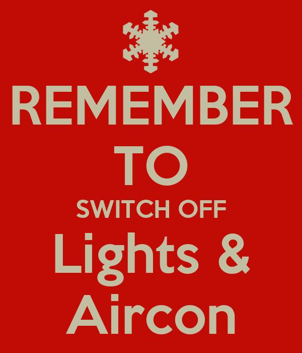Aircon New Aircon Off