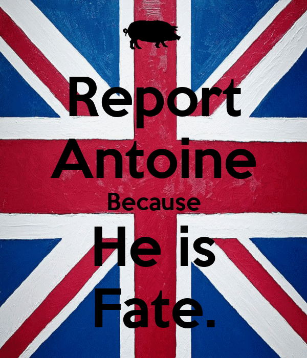 Report Antoine Because He is Fate.