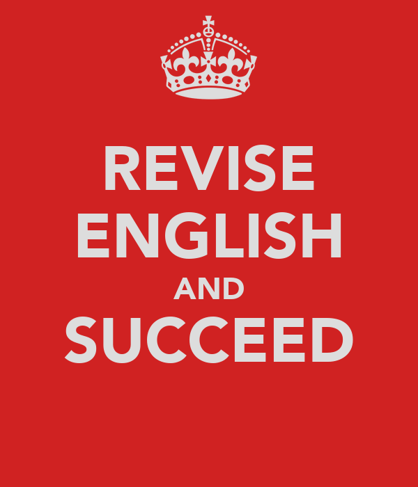 REVISE ENGLISH AND SUCCEED
