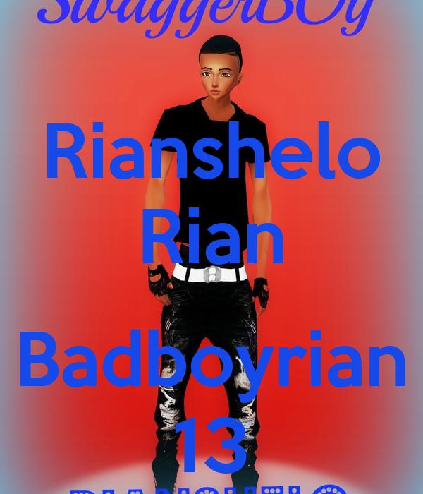 Rianshelo Rian  Badboyrian 13