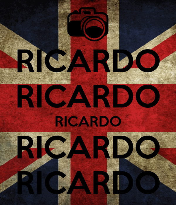 RICARDO RICARDO RICARDO RICARDO RICARDO