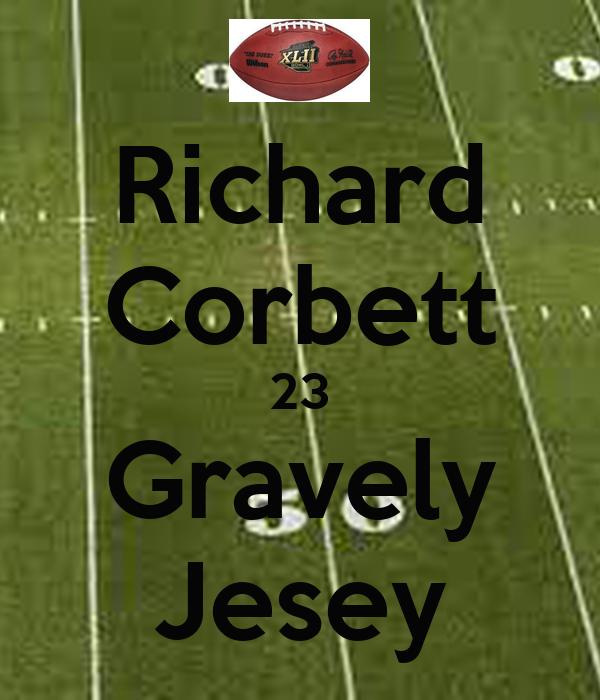 Richard Corbett 23 Gravely Jesey