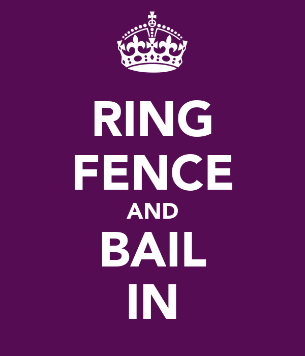 RING FENCE AND BAIL IN