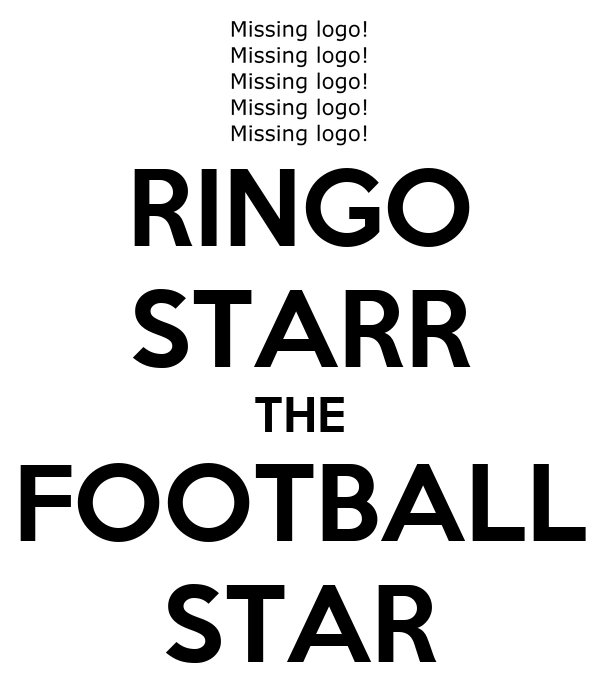 RINGO STARR THE FOOTBALL STAR