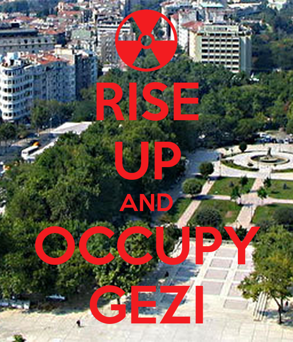 RISE UP AND OCCUPY GEZI