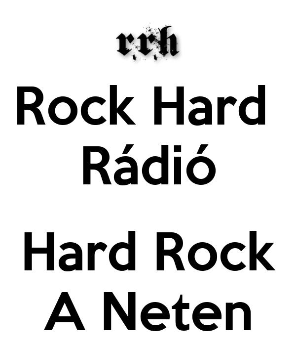 Rock Hard  Rádió  Hard Rock A Neten