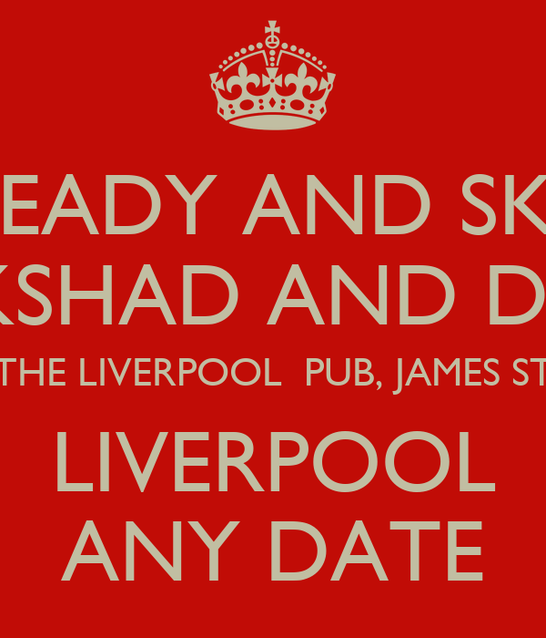 ROCK STEADY AND SKA NIGHT SIR COCKSHAD AND DR YES YES THE LIVERPOOL  PUB, JAMES ST LIVERPOOL ANY DATE