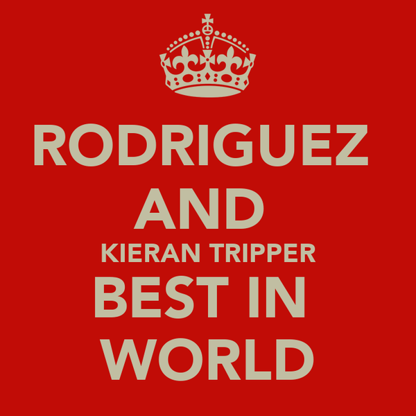 RODRIGUEZ  AND   KIERAN TRIPPER  BEST IN  WORLD