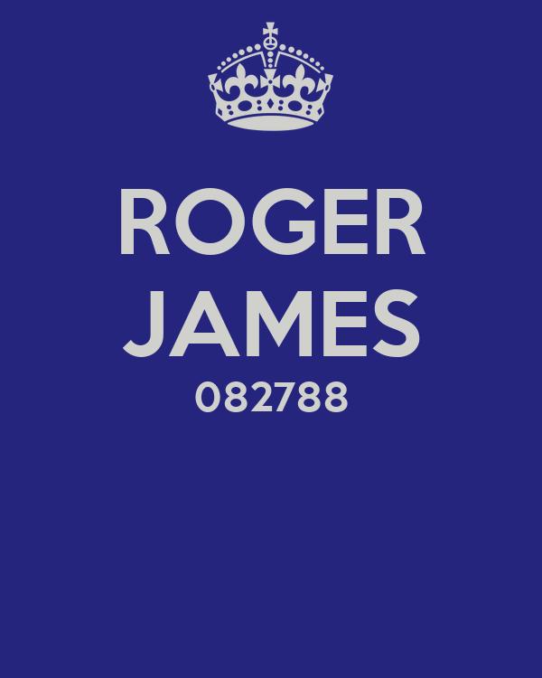 ROGER JAMES 082788