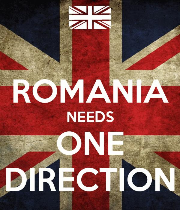 ROMANIA NEEDS ONE DIRECTION