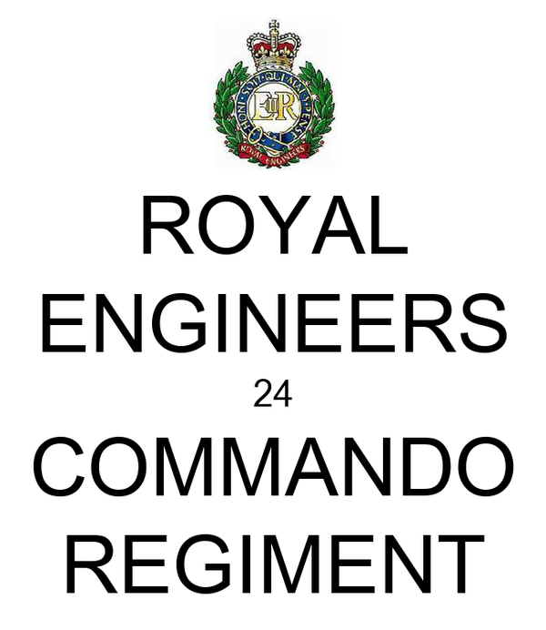 ROYAL ENGINEERS 24 COMMANDO REGIMENT