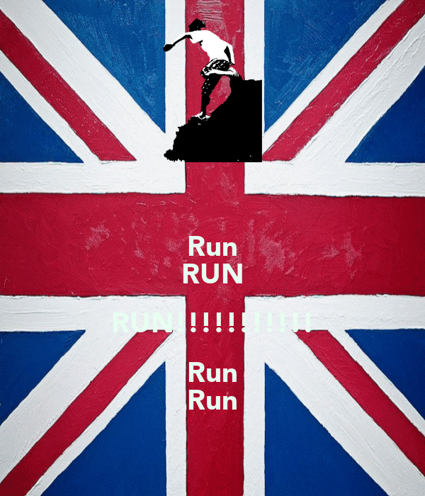 Run RUN RUN!!!!!!!!!!! Run Run