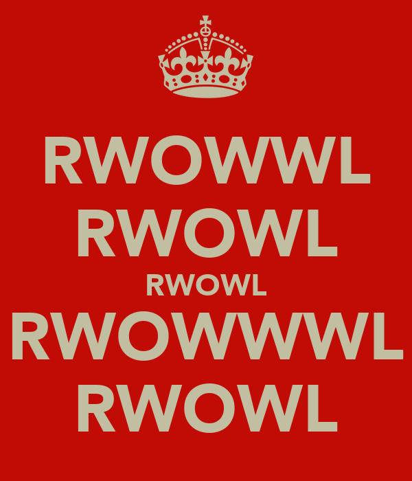 RWOWWL RWOWL RWOWL RWOWWWL RWOWL