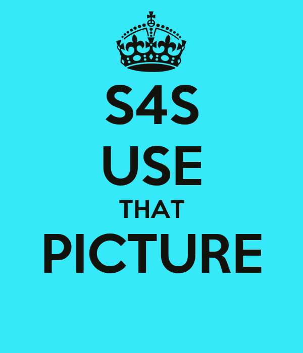 S4S USE THAT PICTURE