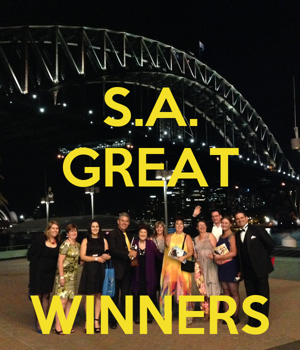 S.A. GREAT   WINNERS