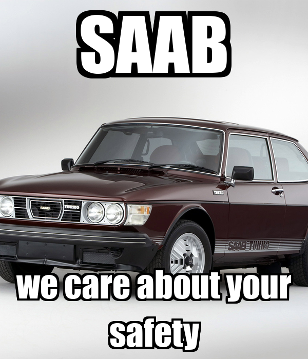 SAAB we care about your safety