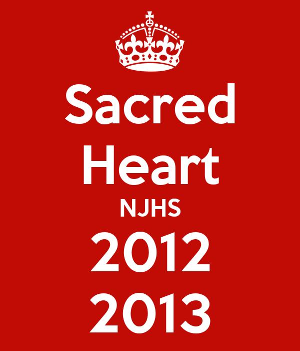 Sacred Heart NJHS 2012 2013