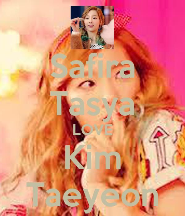 Safira Tasya LOVE Kim Taeyeon