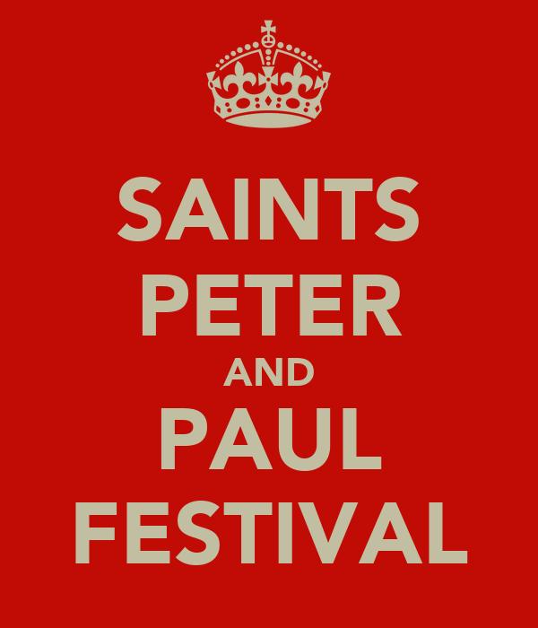 SAINTS PETER AND PAUL FESTIVAL