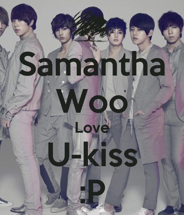 Samantha Woo Love U-kiss :P