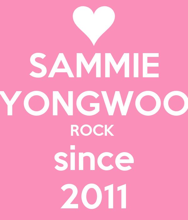 SAMMIE YONGWOO ROCK  since 2011