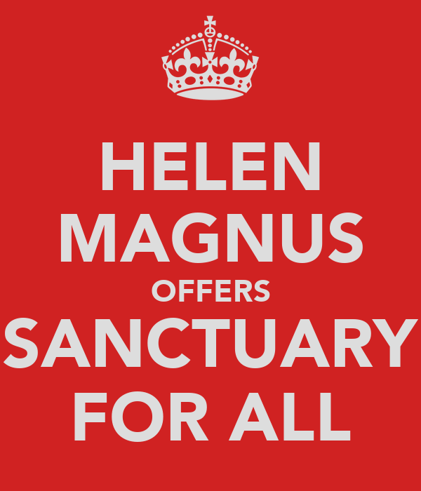 HELEN MAGNUS OFFERS SANCTUARY FOR ALL