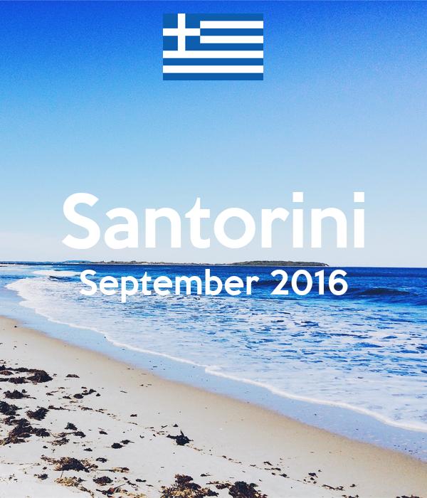 Santorini September 2016