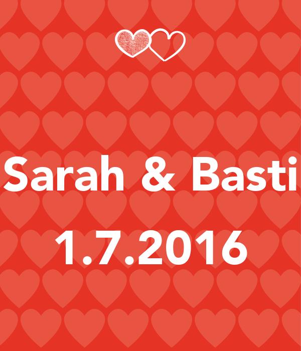 Sarah & Basti  1.7.2016