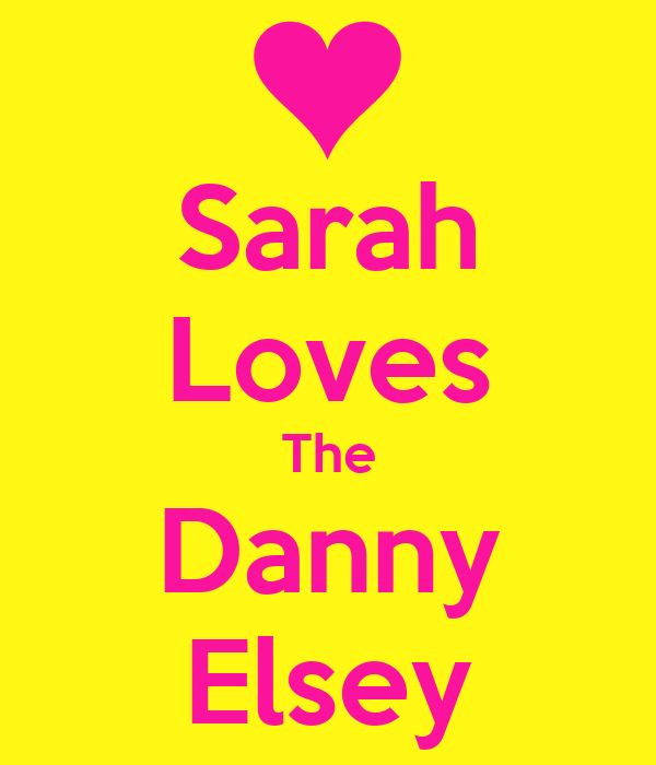 Sarah Loves The Danny Elsey