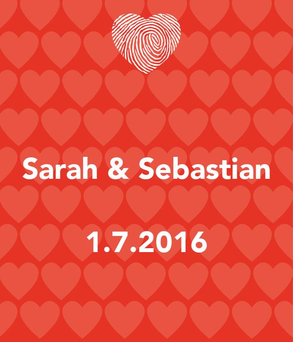 Sarah & Sebastian  1.7.2016