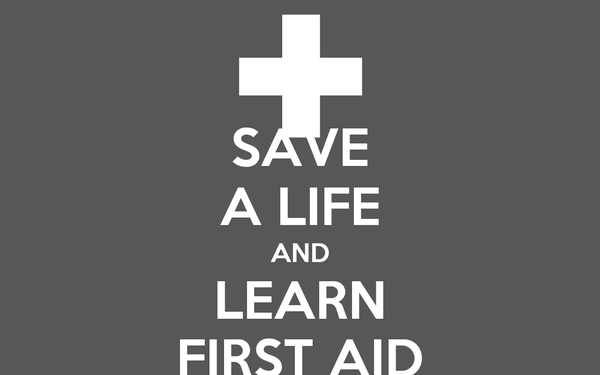 SAVE A LIFE AND LEARN FIRST AID