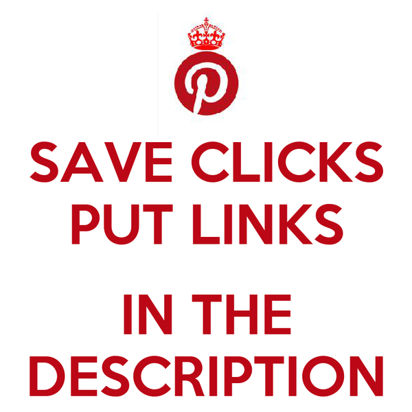 SAVE CLICKS PUT LINKS  IN THE DESCRIPTION