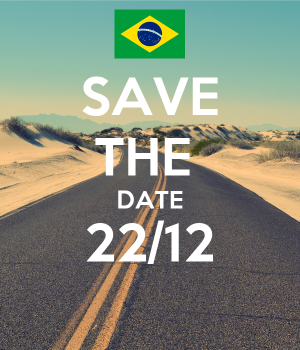 SAVE THE  DATE 22/12