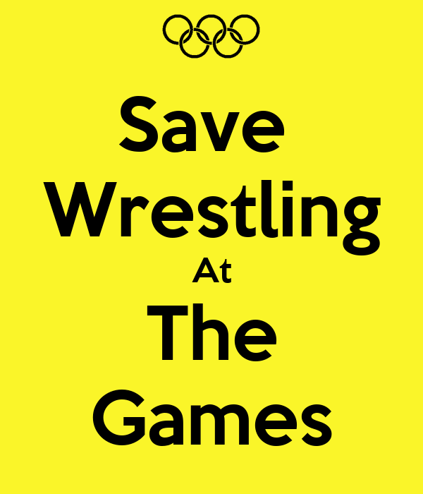 Save  Wrestling At The Games