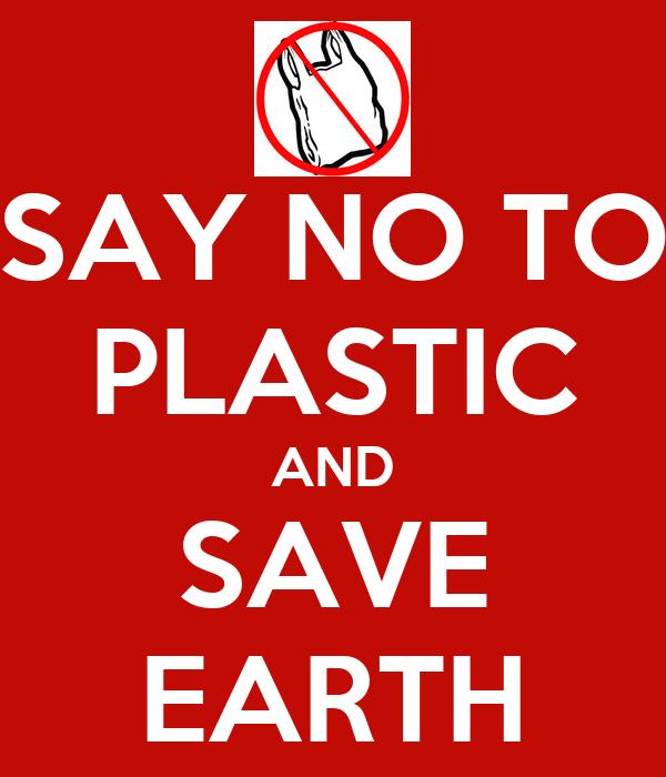 essay say no plastics