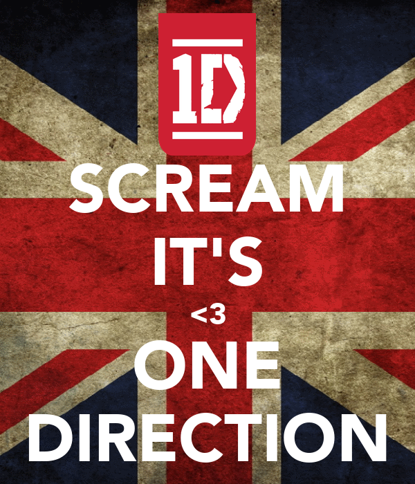 SCREAM IT'S <3 ONE DIRECTION