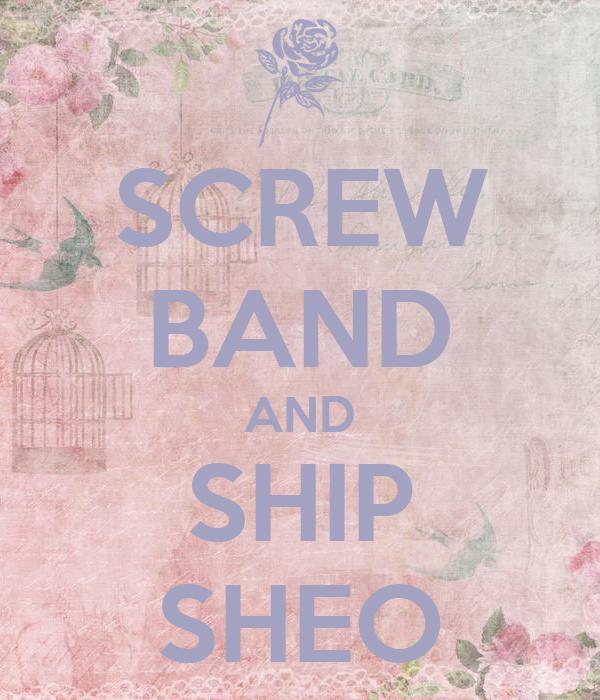SCREW BAND AND SHIP SHEO