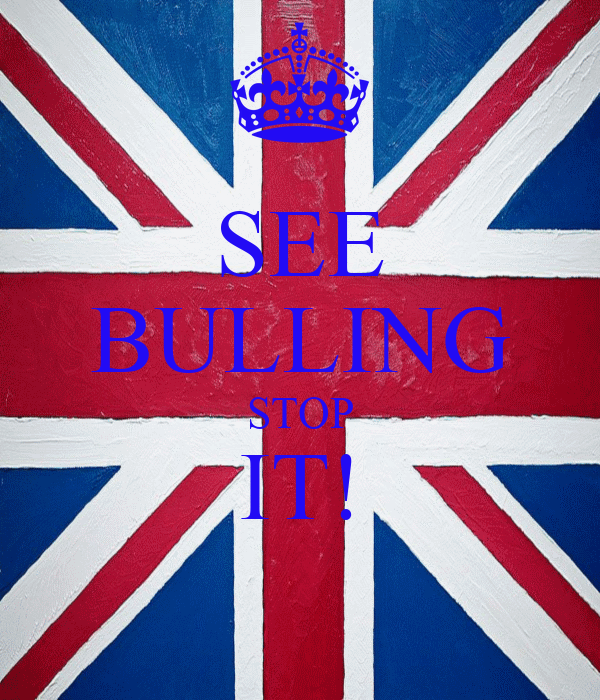SEE BULLING STOP IT!
